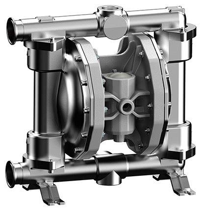 Pompes pneumatiques à membranes